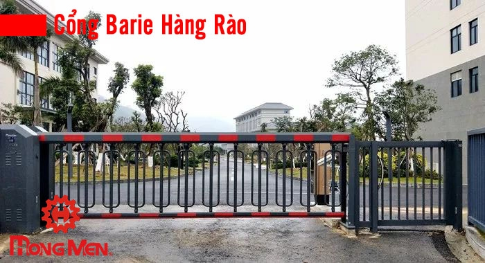 cổng barie