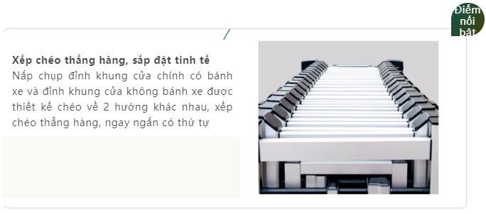 Cửa Cổng Xếp Hợp Kim Nhôm H20C (3)