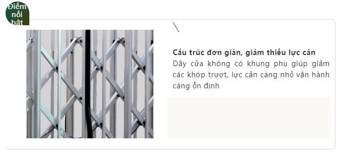 Cửa Cổng Xếp Hợp Kim Nhôm H20C (4)