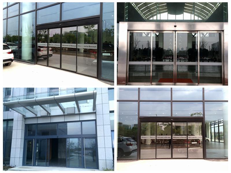 Công trình thực tế cửa kính khung nhôm CK2000
