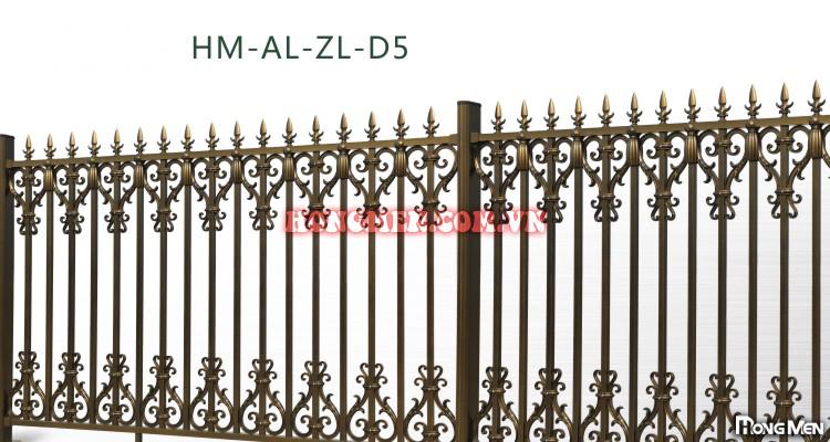 Hàng rào hợp kim nhôm HM-AL-ZL-D5