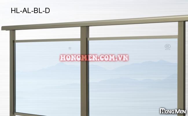 Lan can Kính HM-AL-BL-D