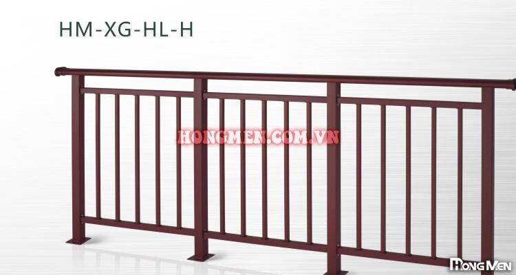 Lan Can Sắt Mạ Kẽm HM-XG-HL-H