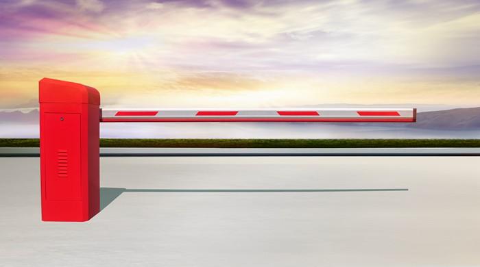 Thanh chắn barrier cần thẳng