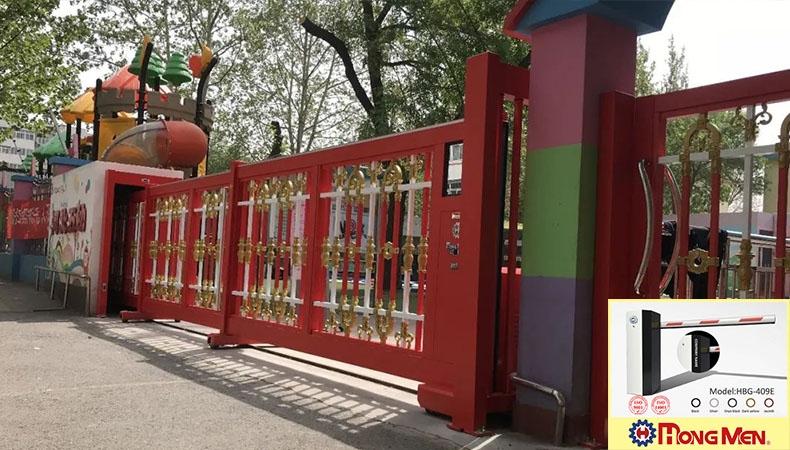 Mẫu Cổng Xếp Siêu Xinh Dành Cho Trường Tiểu Học
