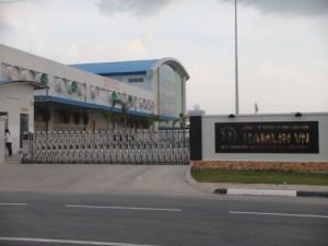 Lắp Đặt Cổng Xếp Tại Công Ty HamLin VN - KCN VSIP II - Bình Dương