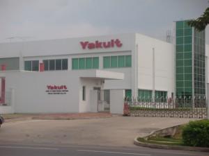 Nhà Máy Yakult - KCN VSIP - Bình Dương