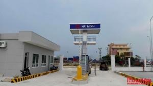 Lắp đặt thanh chắn barrier tại Cảng Đình Vũ - Hải Phòng