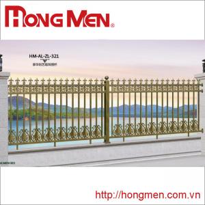 Hàng rào hợp kim nhôm HM-AL-ZL-321
