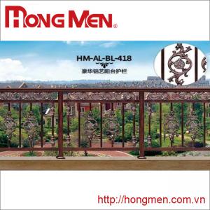 Lan Can Hợp Kim Nhôm HM-AL-BL-418