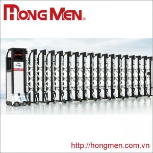 Cửa cổng xếp hợp kim nhôm H670B-HY