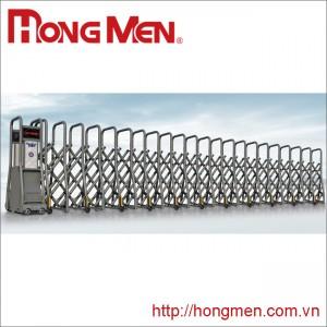 Cửa cổng xếp hợp kim nhôm SQME-G