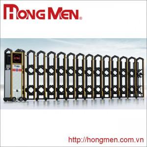 Cổng xếp tự động Hắc Kim Cang C